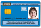 Blue Bricklaying CSCS Card