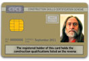 Gold Bricklaying CSCS Card