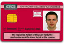 Red Bricklaying CSCS Card